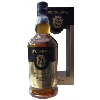 Springbank 21 Year Old Single Cask Single Malt Whisky