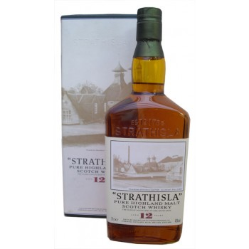 Strathisla 12 Year Old Cream Label Single Malt Whisky
