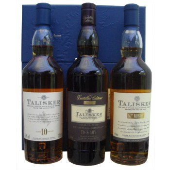 Talisker 3 x 20cl Gift Set Single Malt Whiskies