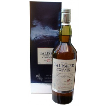 Talisker 25 Year Old 2013 Release Single Malt Whisky