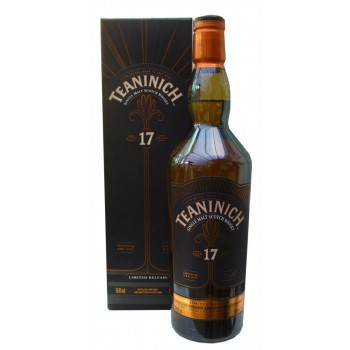 Teaninich 17 Year Old Single Malt Whisky