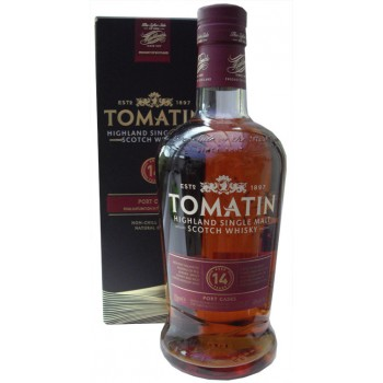 Tomatin 14 Year Old Single Malt Whisky