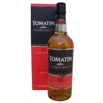 Tomatin 15 Year Old Single Malt Whisky