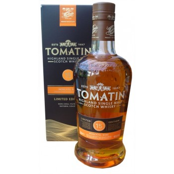 Tomatin 15 Year Old Moscatel Wine Cask Single Malt Whisky