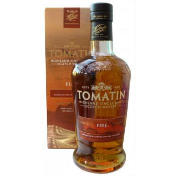 Tomatin Five Virtues Fire Single Malt Whisky