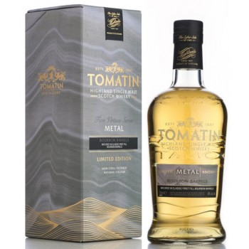 Tomatin Five Virtues Metal Single Malt Whisky