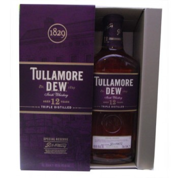 Tullamore Dew 12 Year Old Irish Blended Whiskey