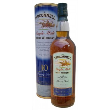 Tyrconnel 10 Year Old Sherry Finish Single Malt Whiskey