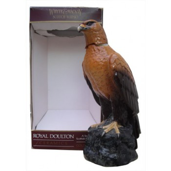 Whyte & Mackay Whisky in Golden Eagle Ceramic Decanter