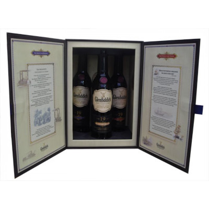 Glenfiddich 19 Year Old Age Of Discovery Collection 3 X