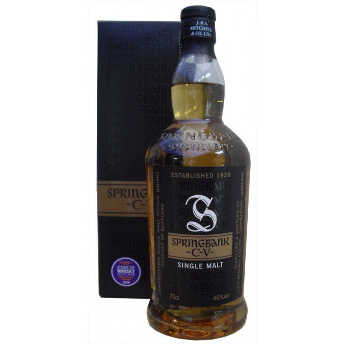 springbank cv single malt whisky