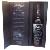 Arran James MacTaggart 10th Anniversary Single Malt Whisky
