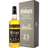 Benriach 25 Year Old Single Malt Whisky
