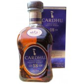 Cardhu 18 Year Old Single Malt Whisky