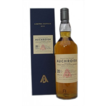 Auchroisk 20 Year Old 2010 Release Single Malt Whisky