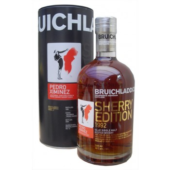 Bruichladdich 1992 Pedro Ximinez Single Malt Whisky