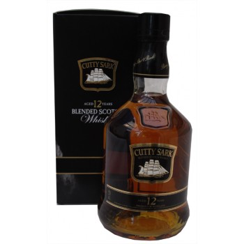 Cutty Sark 12 Year Old Blended Scotch Whisky