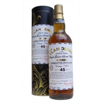 Dumbarton 1965 45 Year Old Single Grain Whisky