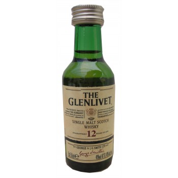 Glenlivet 12 Year Old 5cl