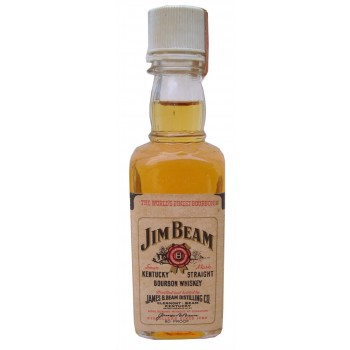 Jim Beam 50ml 80 Proof Miniature
