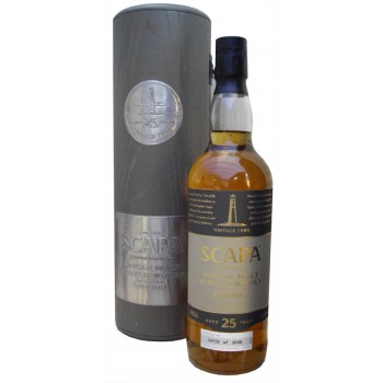 Scapa 1980 25 Year Old Single Malt Whisky