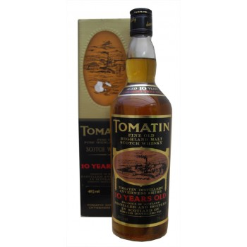 Tomatin 10 Year Old 1980's Single Malt Whisky