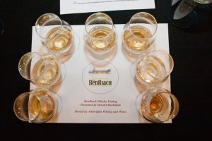 A fabulous line up of BenRiach whiskies